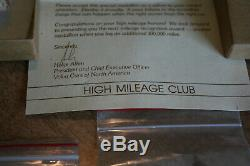100k 200k High Mileage Emblem Badges In Original Volvo Box With Letter See Pix
