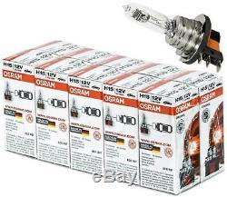 10X H15 12V 55W Osram Lampen Scheinwerfer Halogen Lampe 64176 Birnen Birne Drl