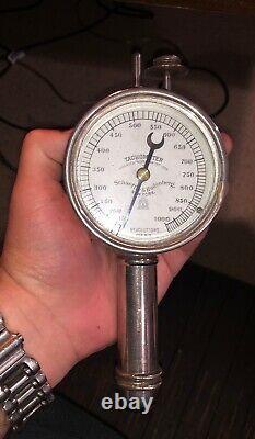 1883 Schaeffer & Budenberg Steam Engine Tachometer New York withOriginal Box