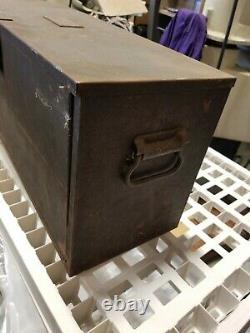 1950'sSIKORSKY AIRCRAFTORIGINAL TOOL BOX3 DRAW24X12X9RARESTRATFORD CT