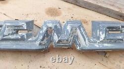 1958 1959 GMC Truck HOOD EMBLEM Original GM ornament