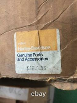 1973 Vintage, Very Rare, Harley Davidson Hard shell Backpack New in Original Box