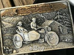 1985 Harley Davidson Belt Buckle unused and in the original box