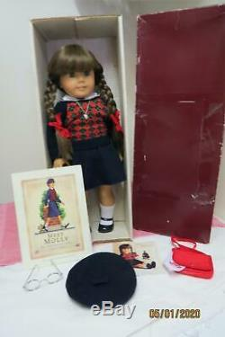 1991 Pleasant Company American Girl Molly Original Box Accessories Transitional