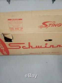 1998 Schwinn Stingray Orange Krate Bike Very Nice Still In Original Box L$$k