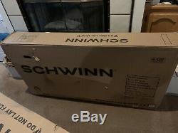 2020 Schwinn Black Phantom In Original Box with springer tank fenders light Mens