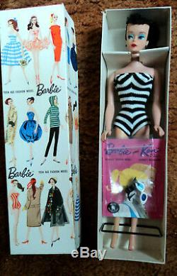 # 4 5 Transitional Barbie In Original Box With Accessories Nice Very Nice