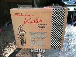 69 Schwinn Sting Ray Orange Krate 16 Die Cast Xonex Great Original Box