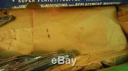 AJ82 Gem Flying Lady Hood Ornament Vintage 1950s #201 Original Box FLYING LADY