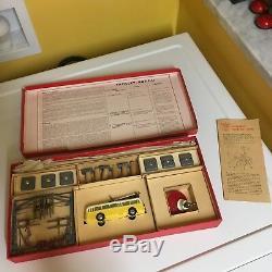 ARISTOCRAFT EHEIM TROLLEY SYSTEM WithEXTRAS, ORIGINAL INSTRUCTIONS & ORIGINAL BOX