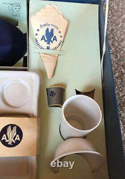 American Airlines Little Miss Stewardess Set in original box / Many accessories
