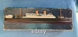 BASSETT LOWKE Otranto 11200 Waterline Model Ship 100 ft to 1in. In original box