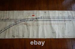 Barnt Green Original Signal Box Sidings Railway Plan Diagram Signalling