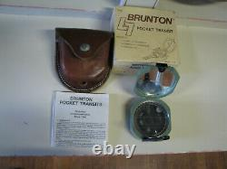 Brunton Pocket Transit / Compass in Original Box
