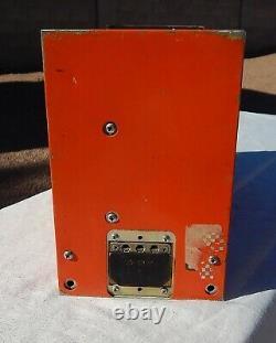 Commercial Airliner Cockpit Pilot Flight Voice Recorder BLACK BOX (Orange)