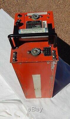Commercial Airliner Cockpit Pilot Voice Recorder BLACK BOX (Orange)