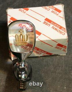 Crown Hood Ornament with Original Box