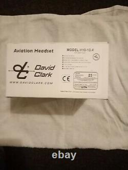 David Clark H10-13.4 Pilot Headset, Boxed and Unused with Headst Bag