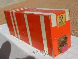 Delta L-1011 Airliner Cockpit Pilot Flight Data Recorder BLACK BOX (Orange)