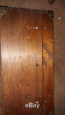Dietzgen Vintage Transit Survey Original Wood Box With Strap. Serial #65214