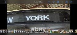 East Yorkshire YORK PULLMAN Original Bus Blind Destination Board Box