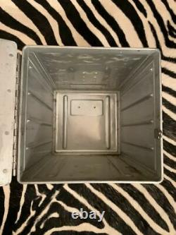GULFAIR Original Galley Box. Airplane Storage Unit. Aluminium Box