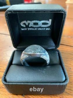 Harley-Davidson 110th Anniversary Mens Ring Original Box 925 Sterling Silver