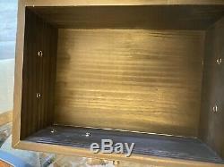 Harley-Davidson Wooden Memory Box. Limited. New in Original Box 11x8x5