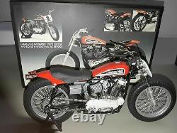 Harley Davidson XR750 1972 110 famous US race motorcycle 8 in. Long with box COA