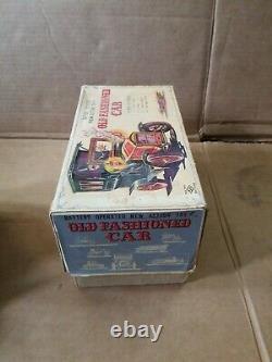 Horikawa Old Fashioned Car Tin B/o Car In Original Box And Working Perfectly