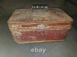 Huge Lot Vintage Pennsylvania Railroad Box Ticket Punch Original Ephemera Penn