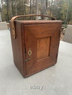 K&E Keuffel Esser Co. Survey Transit With Original Box And Tripod 1920s