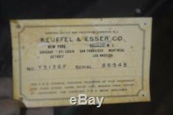 Keuffel & Esser Co Surveryor Transit 86348 (1944) with original Box and Tripod