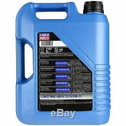 LIQUI MOLY 10 Litre 5W-30 motor oil + Mann Set Ford Transit Box V