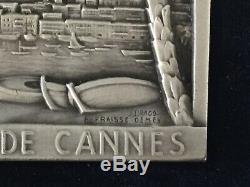 Lovely Automobile Club De Cannes Rally Plaque -Original Box Drago Fraisse Demey