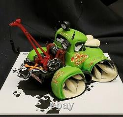 MORGUE sale Speed Freaks Tow Truck Great Gift Retired 2014 MINT original box