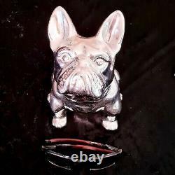 Mack Truck Bulldog hood Ornament Massive Rare Money Box Collector Bulldog