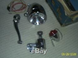 Miller Bicycle Light & tail light generator set in original Box