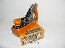 Mint Stanley No 35 Transitional Plane In Original Box Inv T4359
