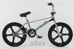 NEW IN BOX Haro Lineage Original Freestyler Chrome BMX Bike 20 Skyway Mags