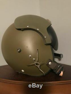 Never Issued New 1968 APH Helicopter Flight Helmet. Original Box. Mint Cond