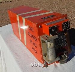 Northwest Airliner Cockpit Pilot Flight Data Recorder BLACK BOX (Orange)