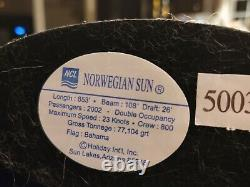 Norwegian Sun Resin Model Cruise Ship. (10-12inch) Comes in the original box