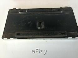 Nos Peerless Deluxe License Plate Frame In Original Box, Nice Item
