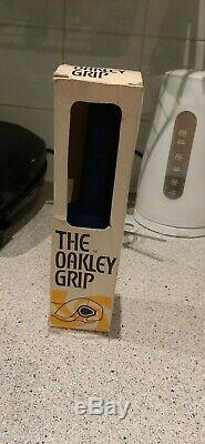 Oakley 1 BMX Grips. Blue, original grips with original box. Old school