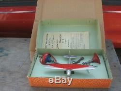 Old Original Mecavion Gyroplane Airplane Toy In Box