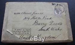 Orient Line Superb & Rare Near Mint Postcard Book In Original Box Posted 1909