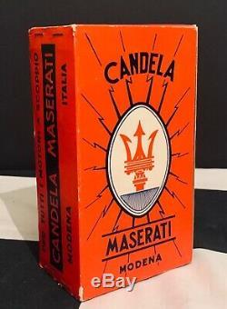 Original Classic Maserati Candela Spark Plugs Tipo Nm 260 Complete Box Of 10