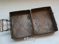 Original German WW2 5cm Mortar Round 5 cm L. Gr. W. 36 Transportation Box / Case