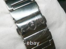 Original LAMBORGHINI Armbanduhr mit Stahlband tonino Lamborghini in Box silber